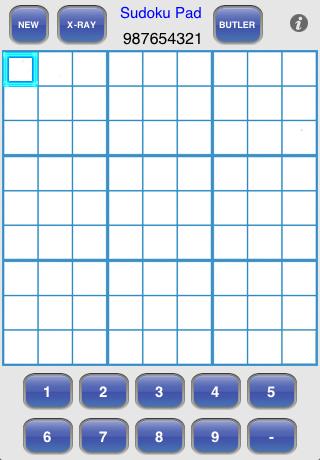 Screenshot Sudoku Pad