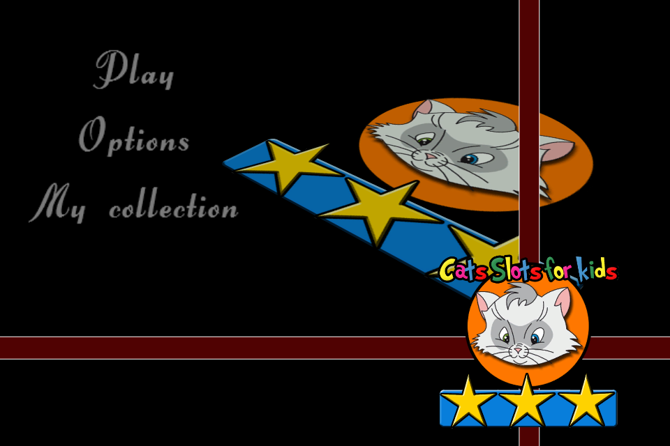 Screenshot Cats slot machine for kids