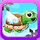 Amazing Turtle Mega Jump Pro - Don't Touch The Ninja Stars