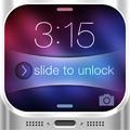Customize Slide to Unlock Bars logo